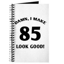 Sexy 85th Birthday Gift Journal