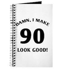 Sexy 90th Birthday Gift Journal