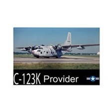 C-123 Provider Rectangle Magnet