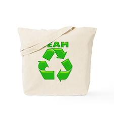 TEAM RECYCLE Tote Bag