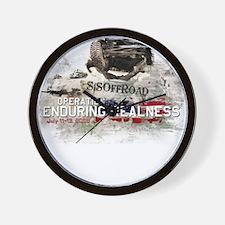 SiS Enduring Realness Wall Clock