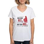 Rah Rah Ree Women's V-Neck T-Shirt