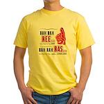 Rah Rah Ree Yellow T-Shirt