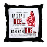 Rah Rah Ree Throw Pillow