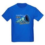 Stare at Cheerleaders Kids Dark T-Shirt