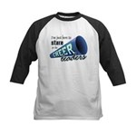 Stare at Cheerleaders Kids Baseball Jersey