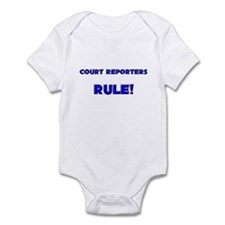 Court Reporters Rule! Infant Bodysuit