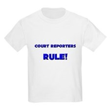 Court Reporters Rule! T-Shirt