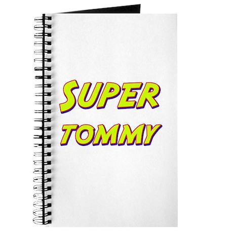 Super tommy Journal