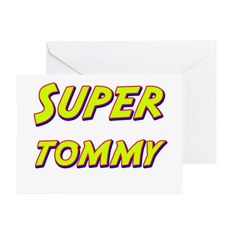 Super tommy Greeting Cards (Pk of 10)
