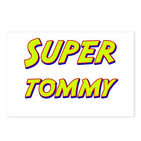 Super tommy Postcards (Package of 8)