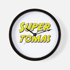 Super tomas Wall Clock