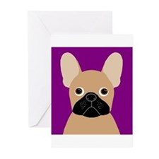 Frenchy (Masked Fawn) Greeting Cards (Pk of 20)
