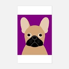 Frenchy (Masked Fawn) Rectangle Decal