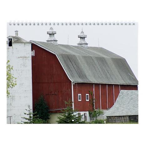 Country Barns of Door County Wall Calendar