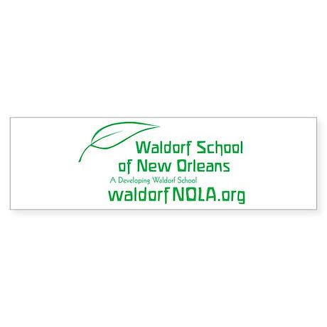 Waldorf School of New Orleans Bumper Sticker 10 pk