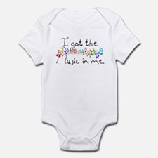I got the music in me Infant Bodysuit