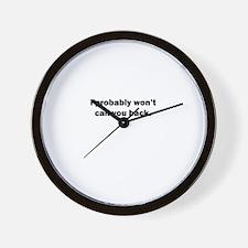 Unique Holla Wall Clock