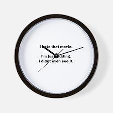Funny 08 08 08 Wall Clock