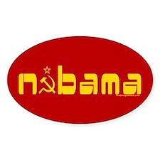 Comrade NOBAMA Oval Decal