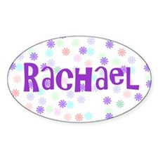 Flower Power Oval Decal