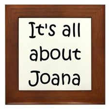 Cool Joana Framed Tile