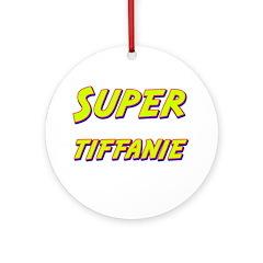 Super tiffanie Ornament (Round)