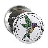 Hummingbird buttons Buttons