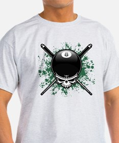 Pool Pirate II splat T-Shirt