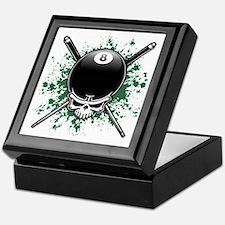 Pool Pirate II splat Keepsake Box