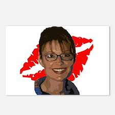 Sarah Palin Lipstick Postcards (Package of 8)