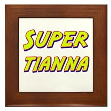 Super tianna Framed Tile