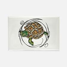 Gem Turtle Rectangle Magnet