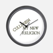Cullenism Wall Clock