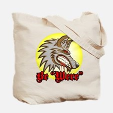 """Be """"Were"""" Red Tote Bag"""