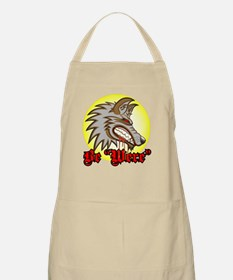 """Be """"Were"""" Red BBQ Apron"""