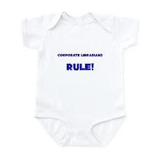 Corporate Librarians Rule! Infant Bodysuit