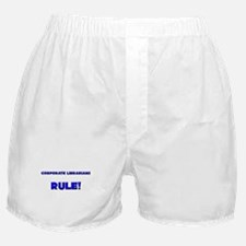 Corporate Librarians Rule! Boxer Shorts
