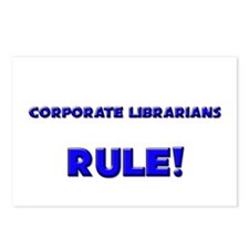 Corporate Librarians Rule! Postcards (Package of 8