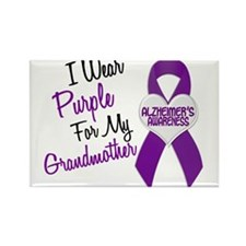 I Wear Purple For My Grandmother 18 (AD) Rectangle