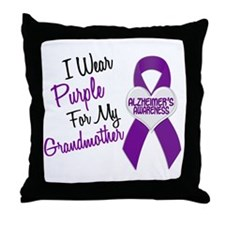 I Wear Purple For My Grandmother 18 (AD) Throw Pil