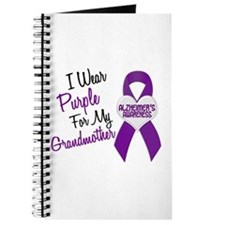I Wear Purple For My Grandmother 18 (AD) Journal
