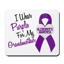 I Wear Purple For My Grandmother 18 (AD) Mousepad