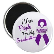 I Wear Purple For My Grandmother 18 (AD) Magnet