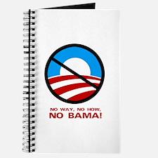 No Way, No How, No Bama Journal