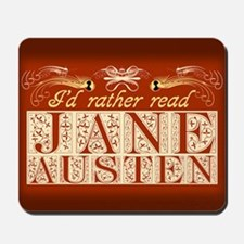 Read Jane Austen Mousepad