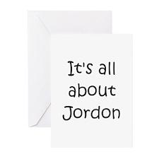 Funny Jordon Greeting Cards (Pk of 10)