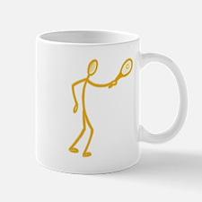 Stick Figure Tennis Mug