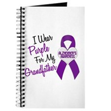 I Wear Purple For My Grandfather 18 (AD) Journal