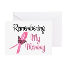 Remembering My Mommy (BC) Greeting Cards (Pk of 10